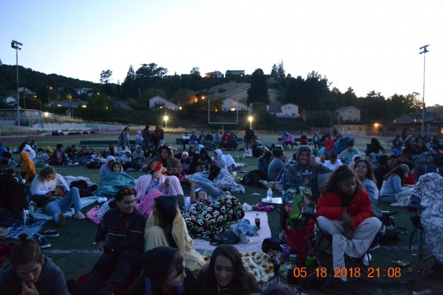 Movie night on Spartan turf!