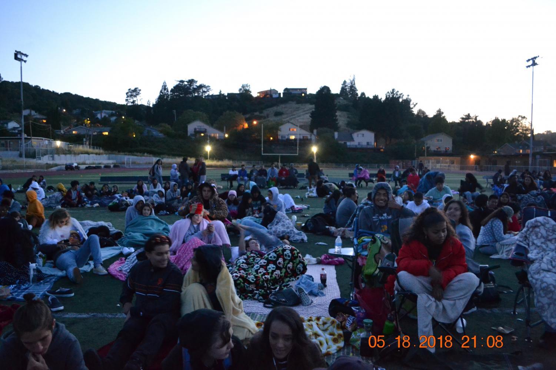Movie night on Spartan turf!