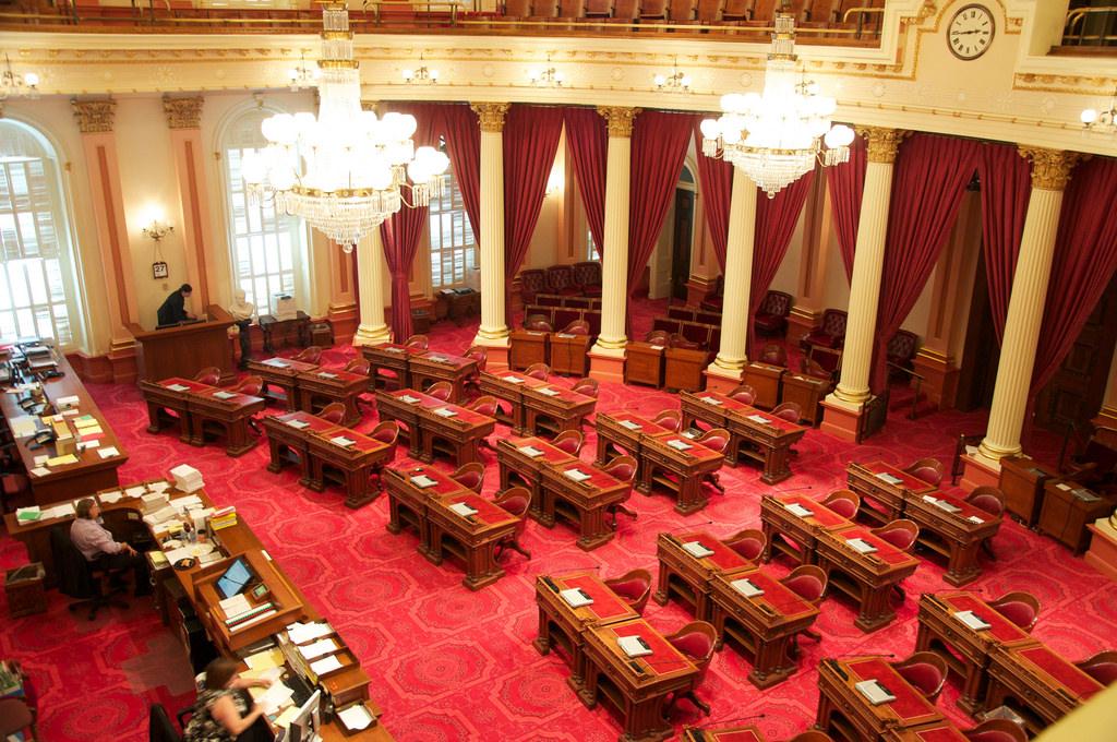 California State Senate chamber