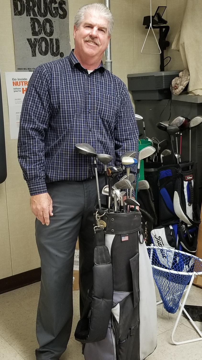 Dan O'Shea, coach of the Pinole Valley High School golf team.