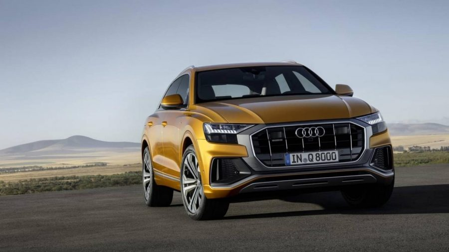 Audi's latest high-tech SUV