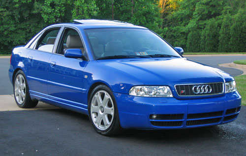 The 2000 Audi S4. Our intrepid auto reviewer tests this classic ride.