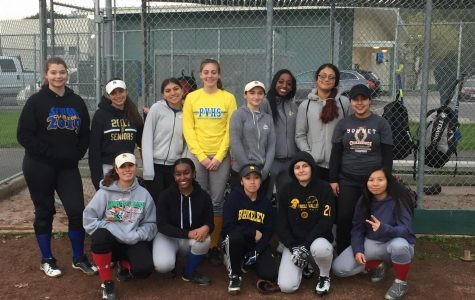The 2019 Pinole Valley High School girls softball team is ready to go.