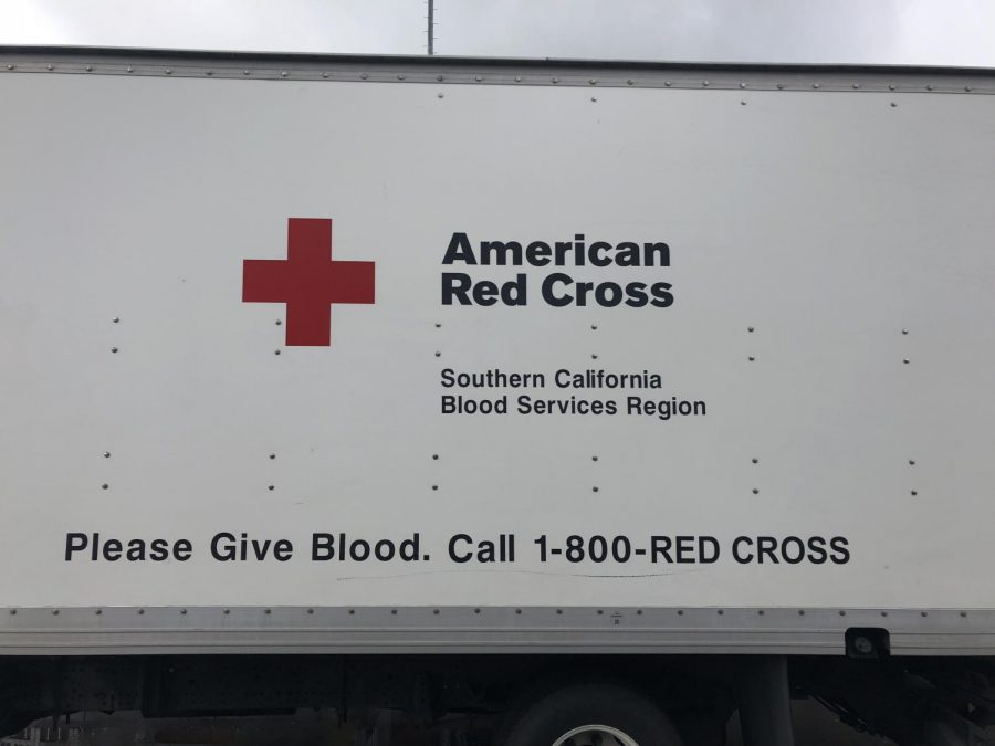 The American Red Cross van visited PVHS for the annual Spring Blood Drive.
