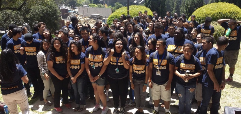 Upward+Bound+students+attend+Cal+Day+at+the+University+of+California%2C+Berkeley.+