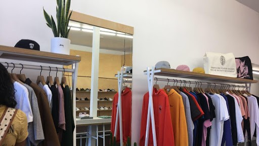 Thrift stores have racks and racks of great used clothing to add to your wardrobe.