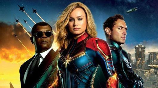 Captain Marvel, which is currently in theaters,  features Marvels first solo female superhero.