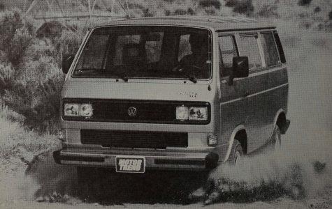 Driving a VW Vanagon