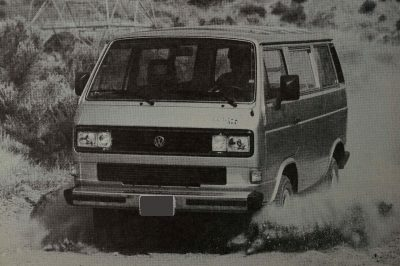 Despite being old, the Vanagon isn't dated.  The interior and exterior styling give the Vanagon a handsome appearance.