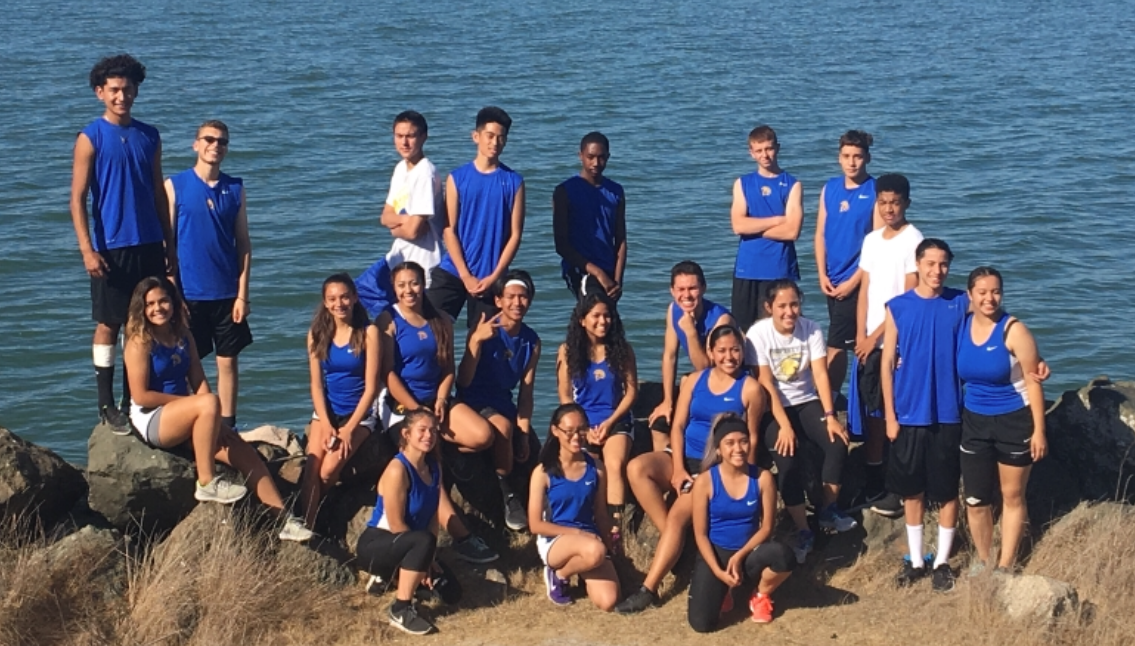 The 2018-2019 Pinole Valley High School Cross Country team.