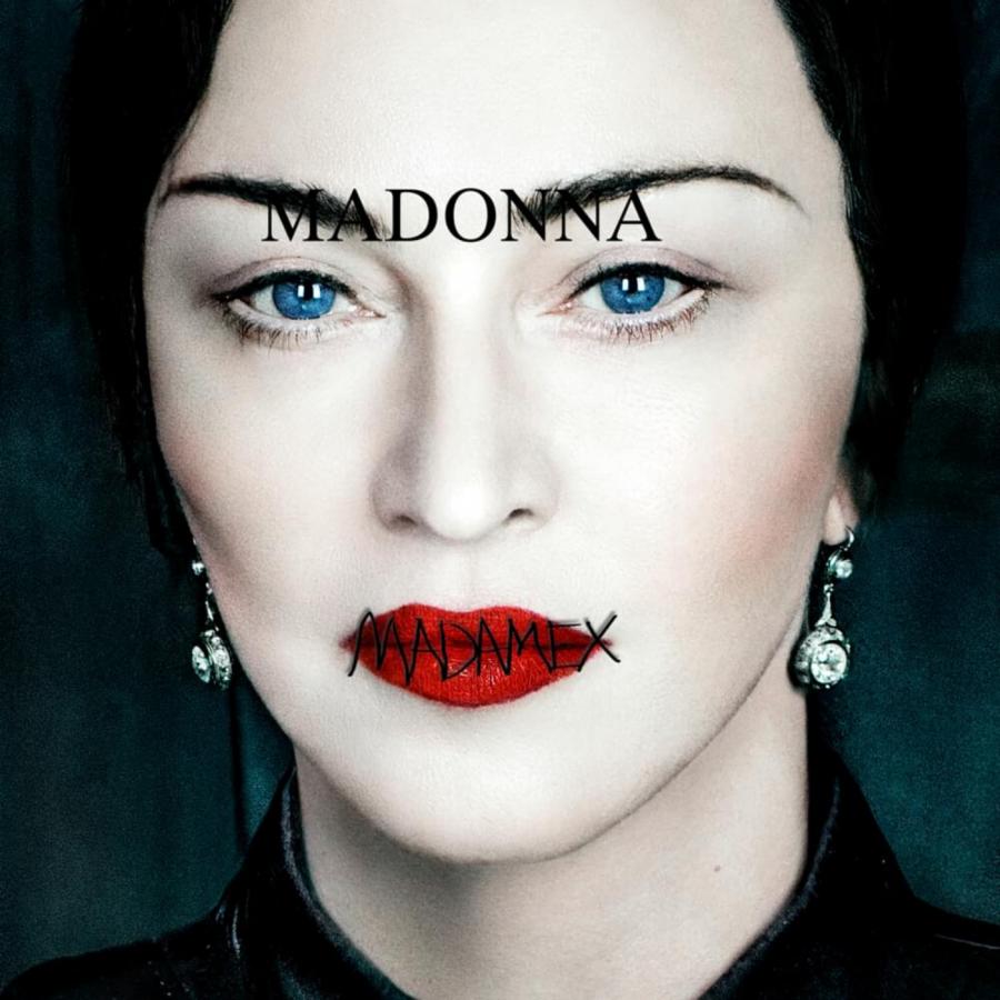 The standard edition cover of Madonna's fourteenth studio album, 'Madame X'.