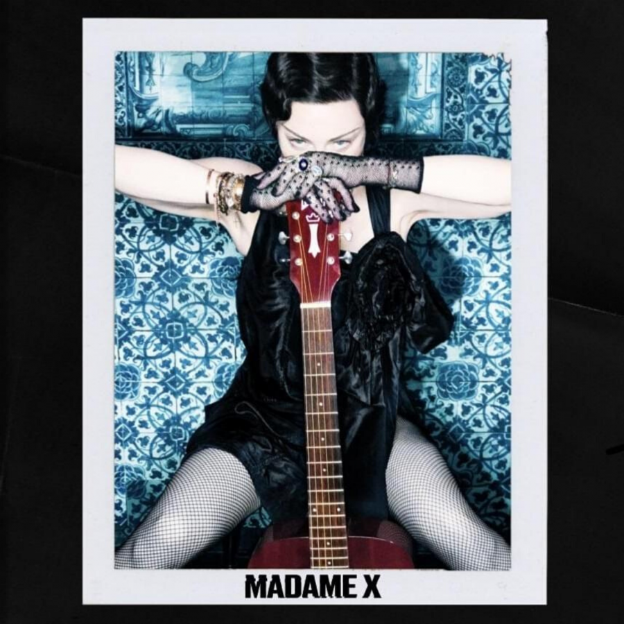 The super deluxe edition cover of 'Madame X'.