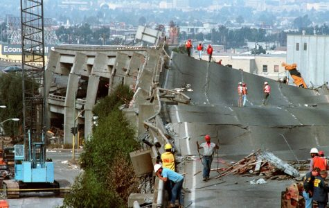 Aftermath of the devastating earthquake that hit San Francisco in 1989