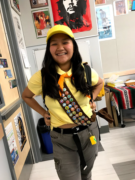 Janice Pilavanh ('22) as Russel from Up!