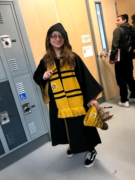 Senior Gaby as the best Hogwarts house, Hufflepuff!