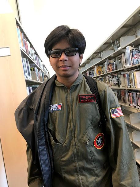 Jenald Manalang ('22) as a fighter pilot