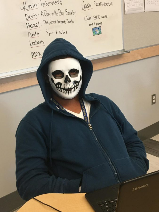Senior John Rubino Skull man named sans