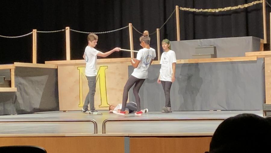 Romeo kills Juliet's cousin, Tybalt, after Tybalt slayed Mercutio. (Act 3 Scene 1)