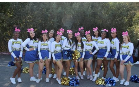 Pinole Valley High School's award-winning Cheer Squad inspires school spirit whereever they go.