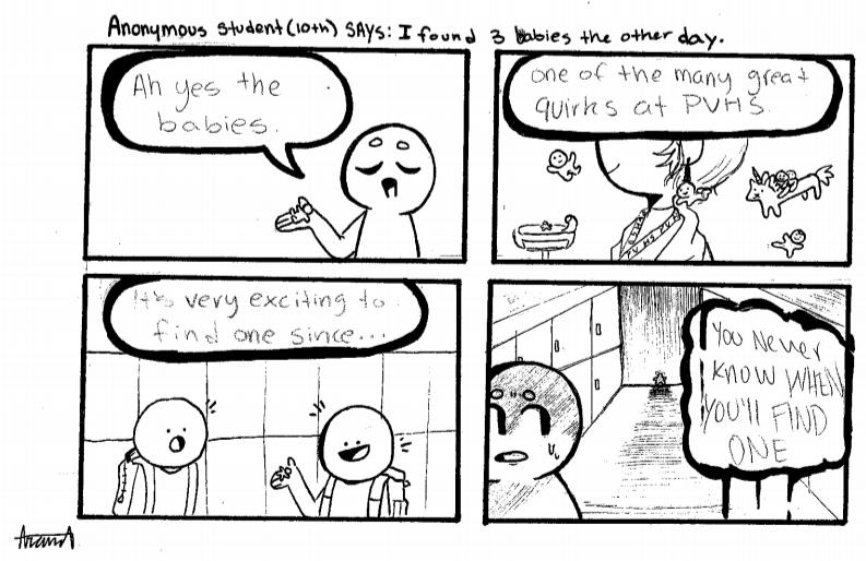 Student Life Cartoon by Ariana Ayala