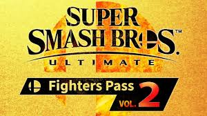 The cover art for Super Smash Bros. Ultimate's Fighters Pass Vol. 2.