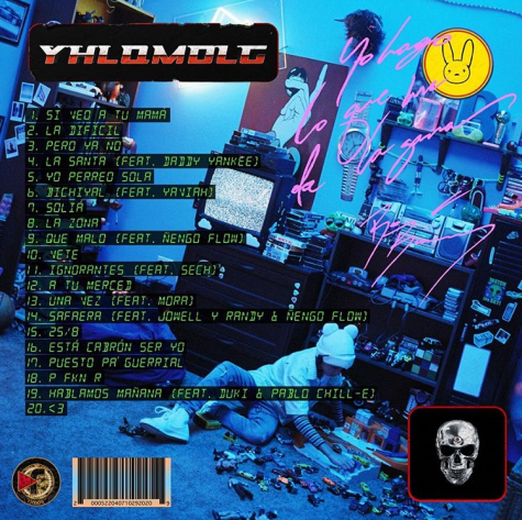 Bad Bunny's Track List