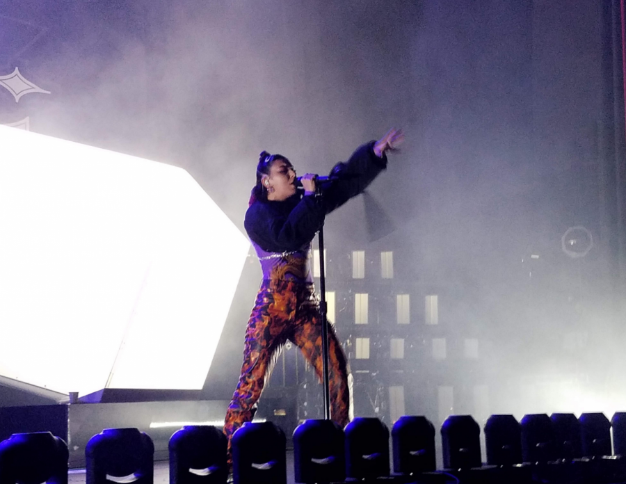 Charli XCX performing Cross You Out from her new album, Charli.