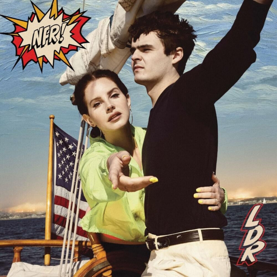 The censored cover of Lana Del Rey's sixth studio album, 'Norman F***ing Rockwell!'.