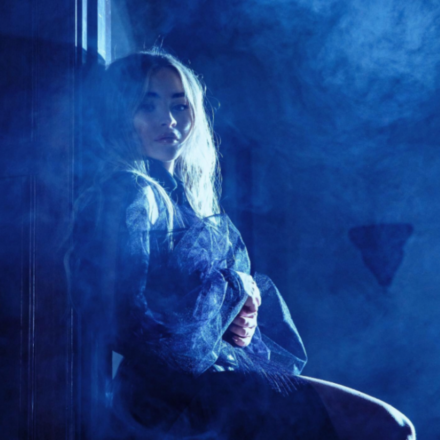Sabrina+Carpenter+as+she+appears+in+the+press+release+photos+for+%27Singular%3A+Act+II%27.