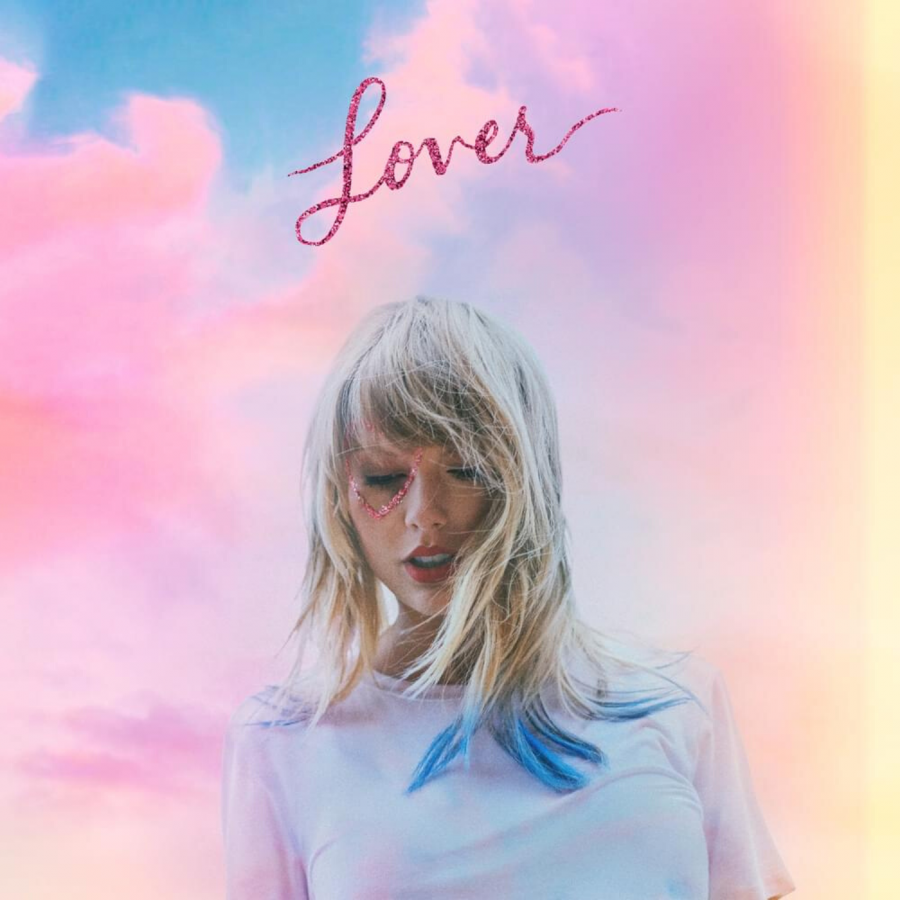 The cover of Taylor Swift's seventh studio album, 'Lover'.