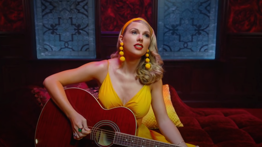Swift in the music video for