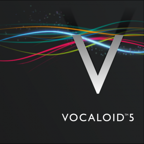 The logo for VOCALOID5, which is the most recent version of the software.