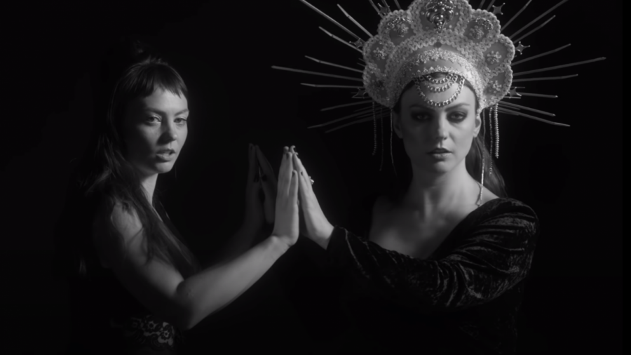"""Angel Olsen in the music video for """"All Mirrors""""."""