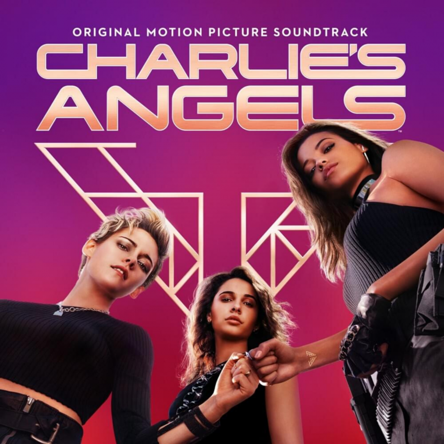 The cover of 'Charlie's Angels (Original Motion Picture Soundtrack)'.