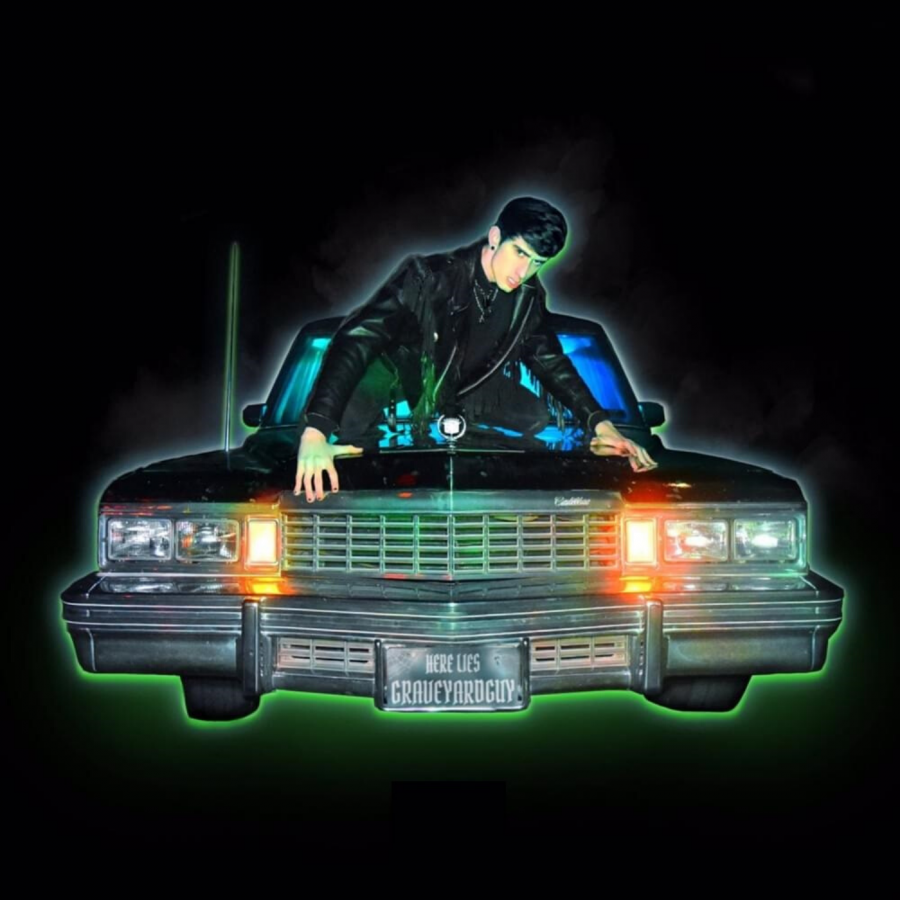 The+cover+of+Graveyardguy%E2%80%99s+debut+mixtape%2C+%E2%80%98Here+Lies+Graveyardguy%E2%80%99.