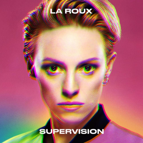 The cover of La Roux's third studio album, 'Supervision'.