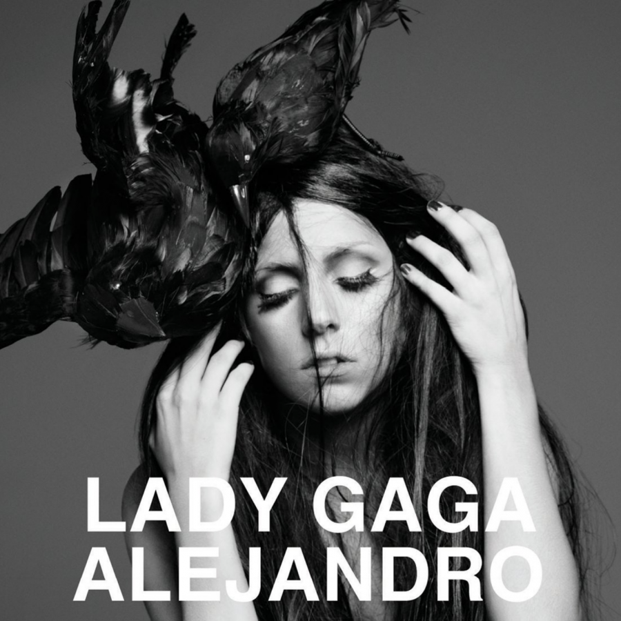 "The cover of the third single, ""Alejandro""."