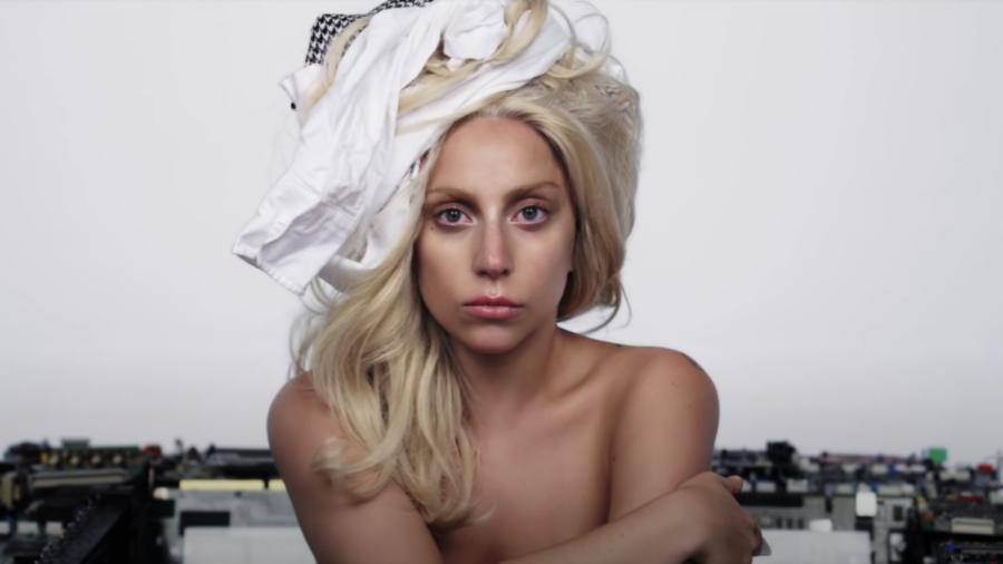 Gaga in the promotional short film for 'ARTPOP'.