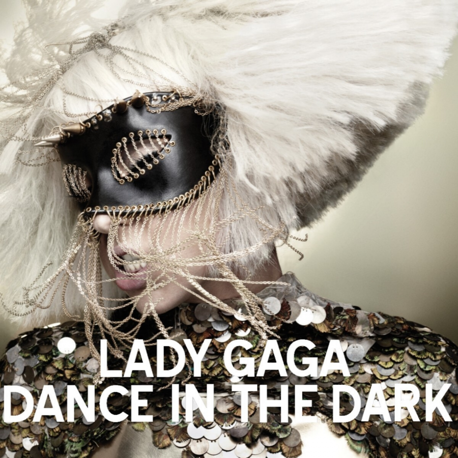 "The cover of the fourth and final single, ""Dance in the Dark""."