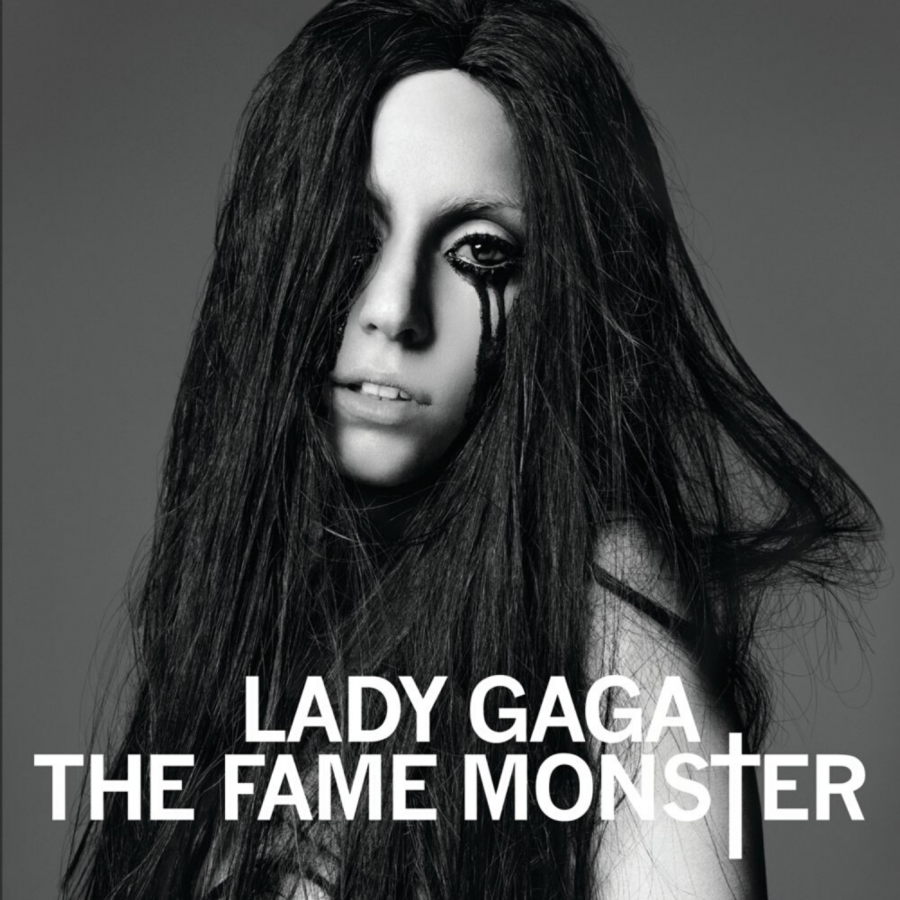 The standard edition cover of 'The Fame Monster'.