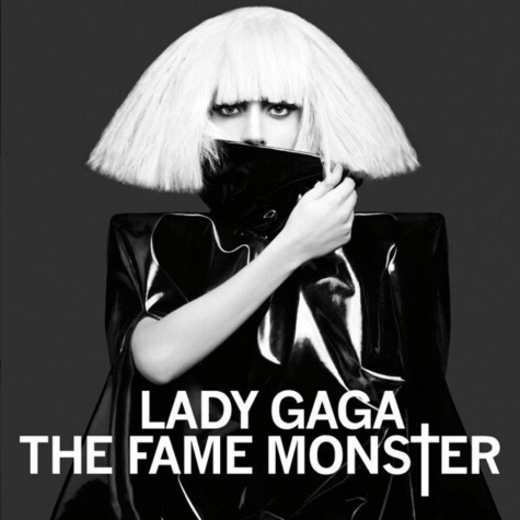 The deluxe edition cover of Lady Gaga's debut extended play, 'The Fame Monster'.