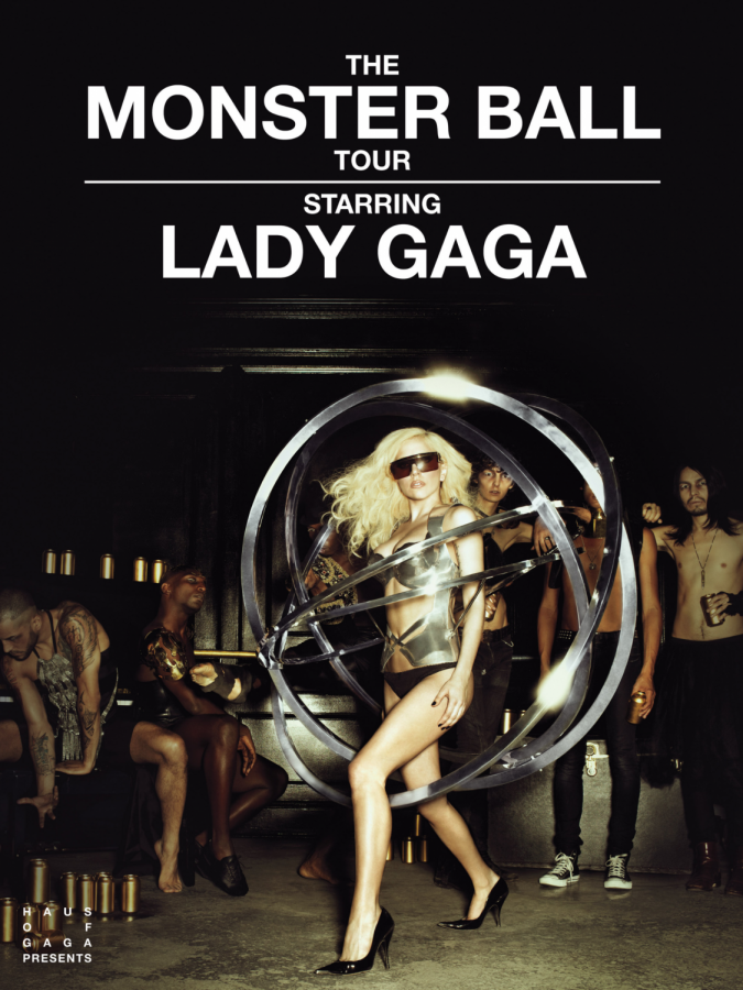 The poster for The Monster Ball Tour.