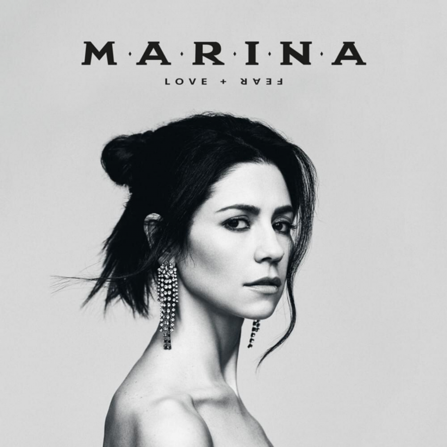 The cover of MARINA's fourth studio album, 'Love + Fear'.
