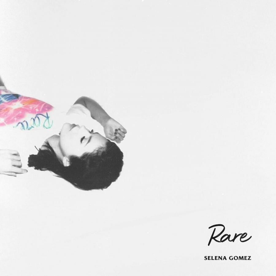 The standard edition cover of Selena Gomez's third studio album, 'Rare'.