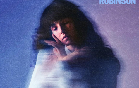 The cover of Robinson's debut extended play, 'Watching You'.