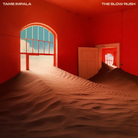 The cover of Tame Impala's fourth studio album, 'The Slow Rush'.