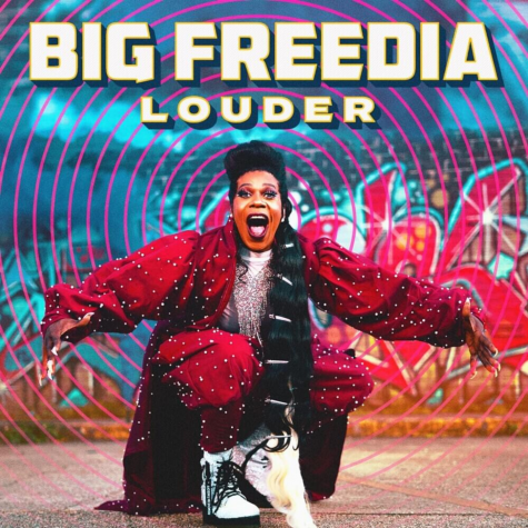 The cover of Big Freedia's fourth extended play, 'Louder'.