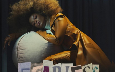 The cover of Fleur East's second studio album, 'FEARLESS'.