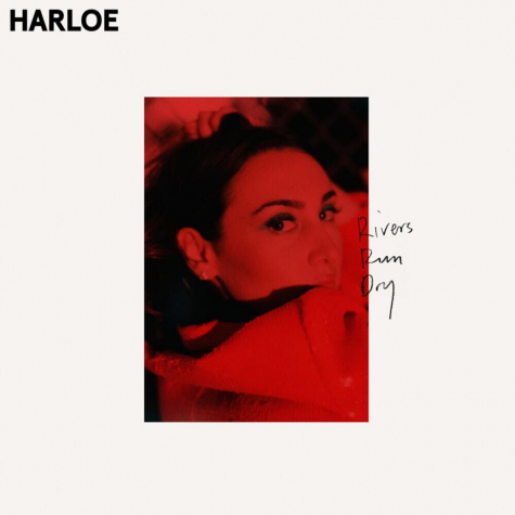 The cover of HARLOE's second extended play, 'Rivers Run Dry'.