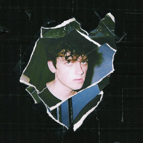 The cover of ieuan's second extended play, 'SWEET BOY'.